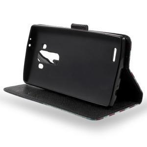 Call peňaženkové puzdro pre LG G4 - US vlajka - 3