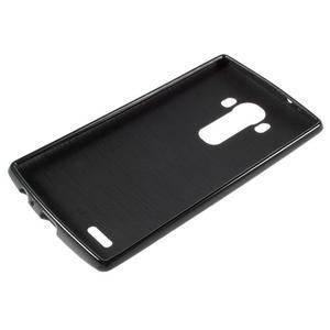Lesklý gélový obal pre LG G4 - čierny - 3