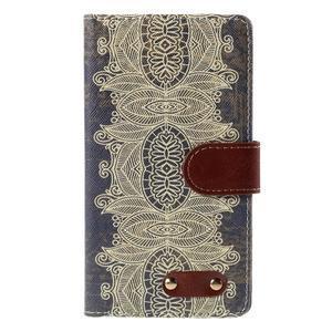 Koženkové puzdro pre mobil LG G4 - Henna - 3