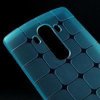 Square gelový obal na LG G4 - modrý - 3/5