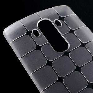 Square gélový obal pre LG G4 - biely - 3