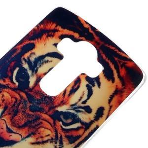 Jells gelový obal na mobil LG G4 - tygr - 3