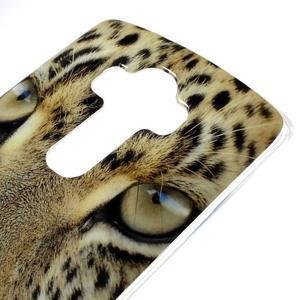 Jells gélový obal pre mobil LG G4 - leopard - 3