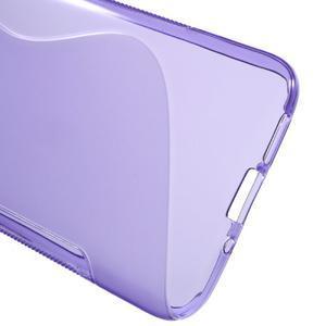 S-line gélový obal pre mobil LG G5 - fialový - 3