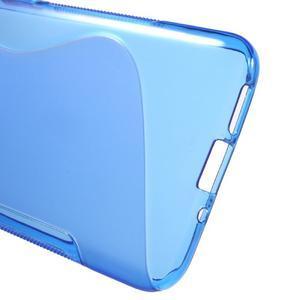 S-line gélový obal pre mobil LG G5 - modrý - 3