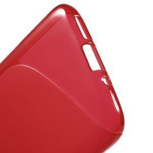 S-line gélový obal pre mobil LG G5 - červený - 3