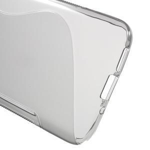S-line gélový obal pre mobil LG G5 - sivý - 3