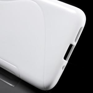 S-line gélový obal pre mobil LG G5 - biely - 3