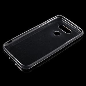 Ultrantenký slim gelový obal na LG G5 - transparentní - 3