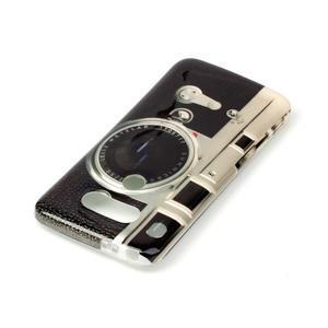 Gélový obal pre mobil LG G5 - retro foťák - 3