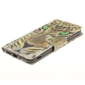 Obrázkové koženkové puzdro pre LG G5 - mačička - 3