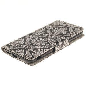 Obrázkové koženkové pouzdro na LG G5 - retro tapeta - 3