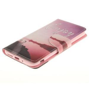 Obrázkové koženkové puzdro pre LG G5 - enjoy - 3