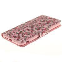 Obrázkové koženkové puzdro pre LG G5 - růže - 3/7