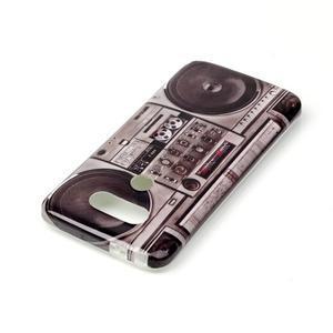 Gelový obal na mobil LG G5 - retro radio - 3