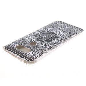 Softy gelový obal na mobil LG G5 - retro květina - 3