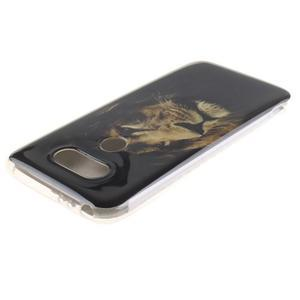 Softy gelový obal na mobil LG G5 - lev - 3