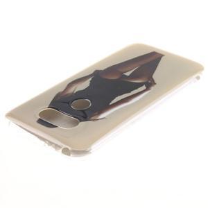 Softy gelový obal na mobil LG G5 - sexy dívka - 3