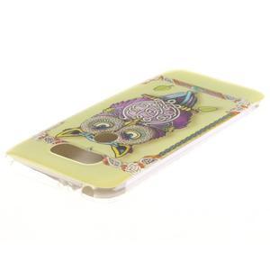 Softy gelový obal na mobil LG G5 - sova - 3