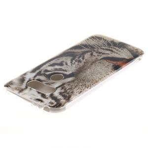 Softy gelový obal na mobil LG G5 - bílý tygr - 3