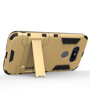 Odolný kryt pre mobil LG G5 - šedomodrý - 3