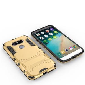 Odolný kryt na mobil LG G5 - zlatý - 3