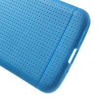 Rubby gelový kryt na LG G5 - modrý - 3/5