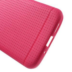 Rubby gélový kryt pre LG G5 - rose - 3