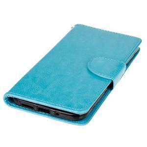 Lees peňaženkové puzdro pre LG G5 - modré - 3