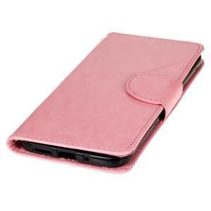 Lees peňaženkové puzdro pre LG G5 - ružové - 3