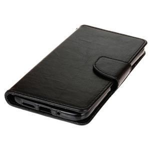 Lees peňaženkové puzdro pre LG G5 - čierne - 3