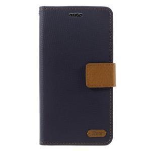 Diary PU kožené puzdro pre mobil LG G5 - čierne - 3