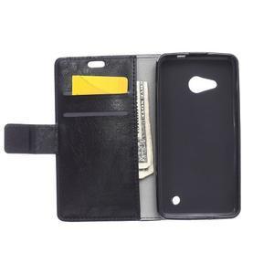 GX koženkové puzdro na mobil Microsoft Lumia 550 - čierne - 3