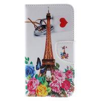 Peněženkové pouzdro na Microsoft Lumia 950 - Eiffelova věž - 3/7