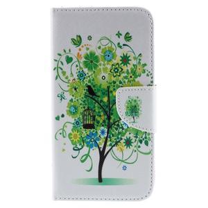 Peňaženkové puzdro pre Microsoft Lumia 950 - zelený strom - 3