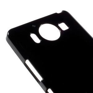 Jelly gélový obal pre Microsoft Lumia 950 - čierny - 3