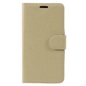 Cloth Peňaženkové puzdro pre mobil Microsoft Lumia 950 - champagne - 3