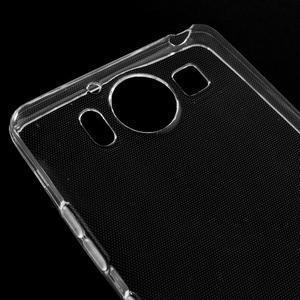 Transparentný gélový obal pre Microsoft Lumia 950 - 3