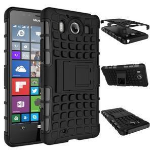 Outdoor odolný kryt na mobil Microsoft Lumia 950 - černý - 3