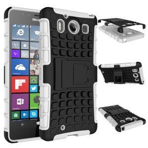 Outdoor odolný kryt pre mobil Microsoft Lumia 950 - biely - 3