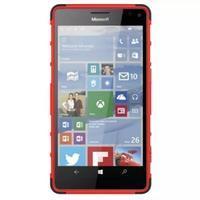Odolný outdoor obal pre mobil Microsoft Lumia 950 XL - červený - 3/7