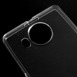 Transparentní gelový obal na Microsoft Lumia 950 XL - 3