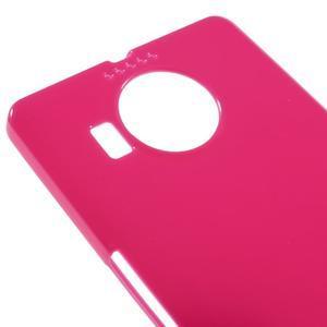 Jelly lesklý gélový obal pre mobil Microsoft Lumia 950 XL - rose - 3
