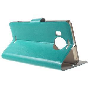 Horse Peňaženkové puzdro pre Microsoft Lumia 950 XL - modré - 3