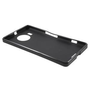 Matný gelový obal na mobil Microsoft Lumia 950 XL - černý - 3