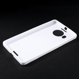 S-line gélový obal pre mobil Microsoft Lumia 950 XL - biely - 3