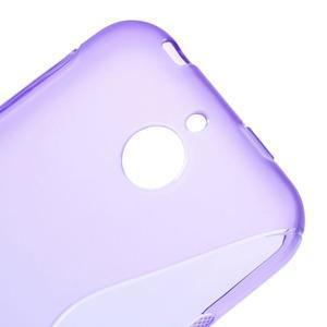 S-line gélový obal pre mobil HTC Desire 510 - fialový - 3
