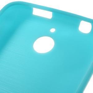 Jelly lesklý gelový obal na HTC Desire 510 - světlemodrý - 3