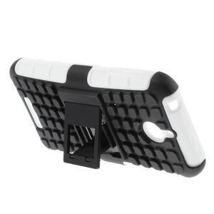 Outdoor odolný kryt pre mobil HTC Desire 510 - biely - 3