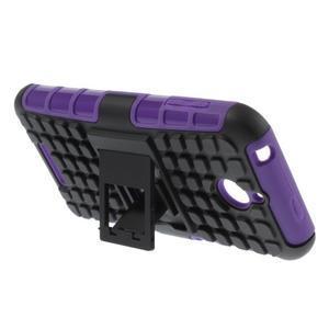 Outdoor odolný kryt na mobil HTC Desire 510 - fialový - 3